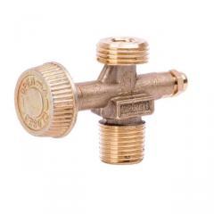 Вентиль для газовых баллонов и горелок INTERTOOL GS-0009