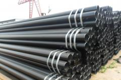 Pipes are steel electrowelded