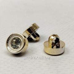 Пуговицы блузочные Ø-10мм цвет: золото (1-2008-Ю-0032)