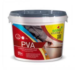 Клей строительный универсальный PVA Nanofarb 10 кг