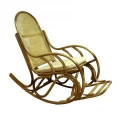 Rocking-chair rattan furniture