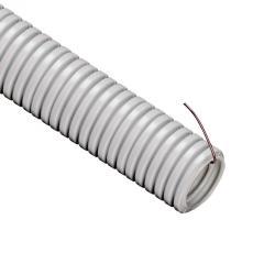 Труба гофрированная ПВХ НГ Ø 16мм 1м