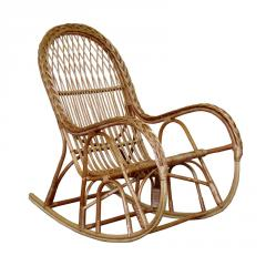 Rocking-chair wattled of a rod