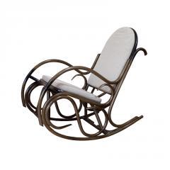 Rocking-chair rattan furniture