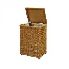 Laundry basket, wicker furniture, from a rod