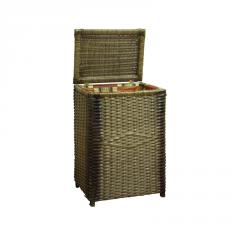 Laundry basket from a rattan, a wicker furniture