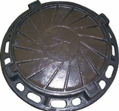 Pig-iron manholes