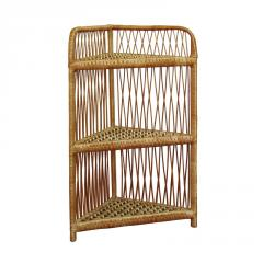 The whatnot angular of a rod, a wicker furniture