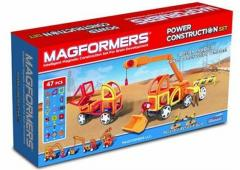 Magformers Power Construction Set - 47 is put.