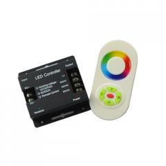 Контроллер RGB PROlum TOUCH 24A 5 кнопок Белый