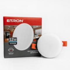 Светильник ETRON 1-EDP-605 12W 5000К ІР20 круг