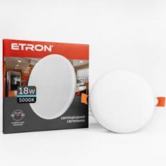 Светильник ETRON 1-EDP-611 18W 5000К ІР20 круг