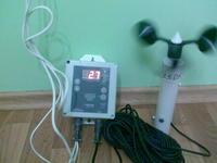 Anemometer crane alarm digital ASTs (Ukraine),