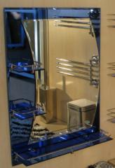 Зеркало 500*700 мм цветное фацетное для ванной