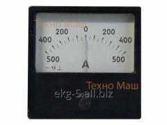Амперметр М42100 (500-0-500А)