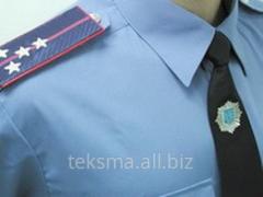 Shirt uniform for law enforcement agencies and