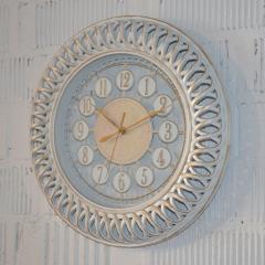 "Настенные часы ""Antiq round white"" (40 см.)"