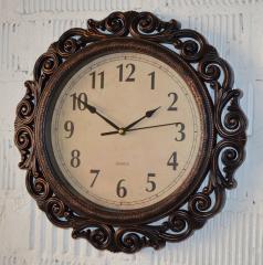 """Фигурные настенные часы """"Bronze"""" (40 см.)"""