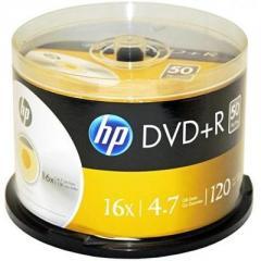 Диск DVD HP DVD+R 4.7GB 16X 50шт Spindle...