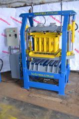 Vibrating press Bulat for production of paving