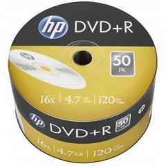 Диск DVD HP DVD+R 4.7GB 16X 50шт (69305/DRE00