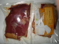 Мясо гуся. Гусиная грудка (1 шт в упаковке).