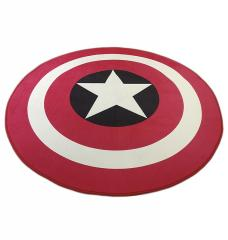 Коврик для офисного кресла Капитан Америка, защитный коврик для компьютерного кресла, А-Клас