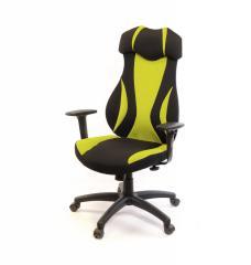 Кресло офисное Эпсилон,  черно-желтый, ...