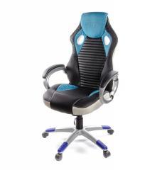Кресло офисное Григ PL TILT синий,  А-Клас