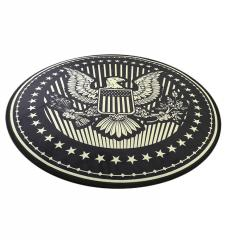 Коврик для офисного кресла Американский герб, защитный коврик для компьютерного кресла, А-Клас