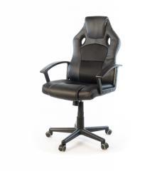 Кресло офисное Анхель, черный, эргономичное компьютерное кресло, NEW PL TILT А-Клас