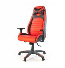 Кресло офисное Хазард,  красный,  компьютерны