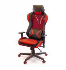 Кресло офисное Эриданс,  красный,  компьютерн