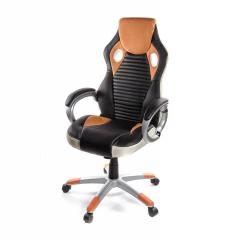 Кресло офисное Григ PL TILT оранжевый, ...