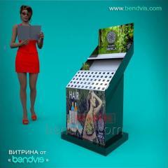 Utstillingsvinduer for parfyme og kosmetikk