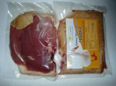 Мясо утки. Утиная грудка (1 шт в упаковке).