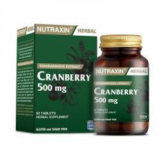 """Растительная добавка """"Клюква"""" NUTRAXIN, 60 таблеток"""
