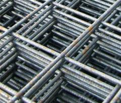 Grids welded (for reinforced concrete designs)