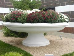 Flower beds decorative of a steklofibrobeton