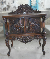 Semi-antique wooden furniture from the producer,