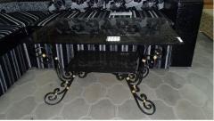 Столы журнальные, Кованый журнальный стол