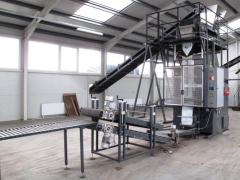 The automatic machine of packing of not dust-like