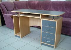 Furniture for a house office, Tables computer
