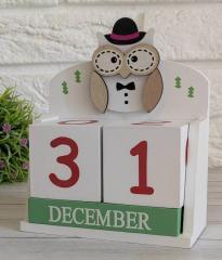 Вечный календарь «Из года в год» с совой
