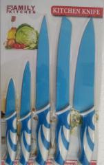 Набор металлических ножей Family Kitchen B1019