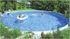 Round swimming pools Kiev