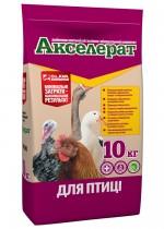 Premix for a bird Akselerat for birds