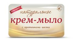 Cream-soap Natural with silk proteins