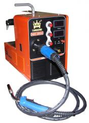 Semiautomatic device welding invertor NBC type