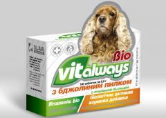 Vitamins VITALWAYS-BIO with bee pollen(for dogs)
